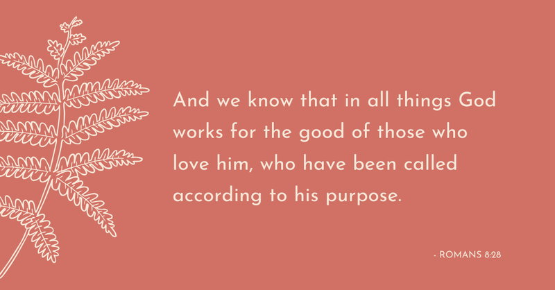 Your Daily Verse - Romans 8:28