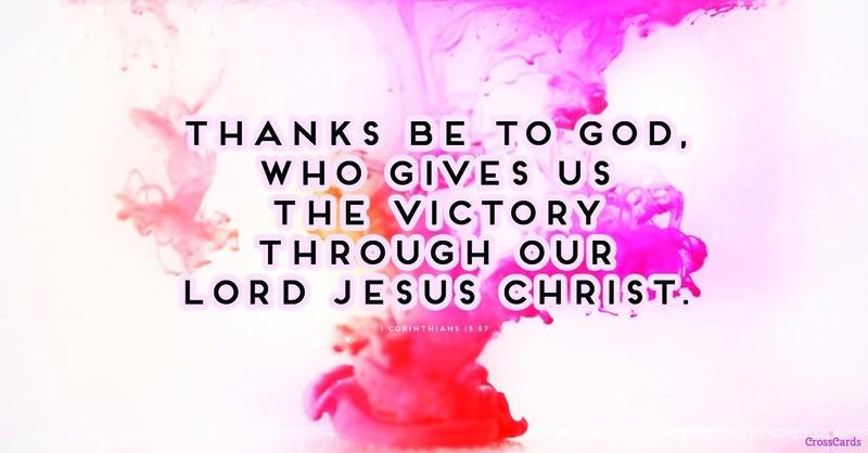 Your Daily Verse - 1 Corinthians 15:57