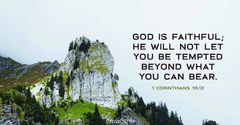 Your Daily Verse - 1 Corinthians 10:13