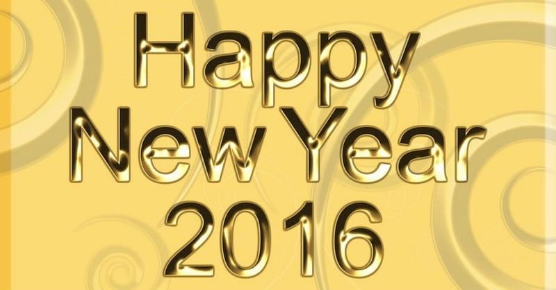 Be Not Afraid! Farewell 2015, Hello 2016
