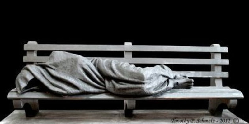 'Homeless Jesus' Provokes Debate on What it Means to be Christian