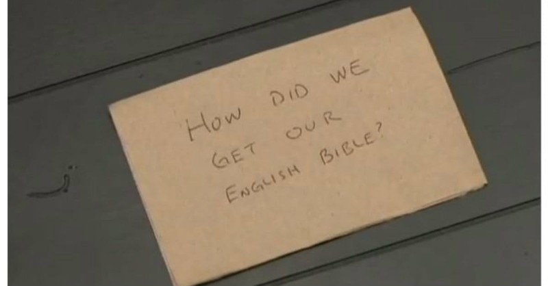 Napkin Theology: How Was the N.T. Canon Chosen?
