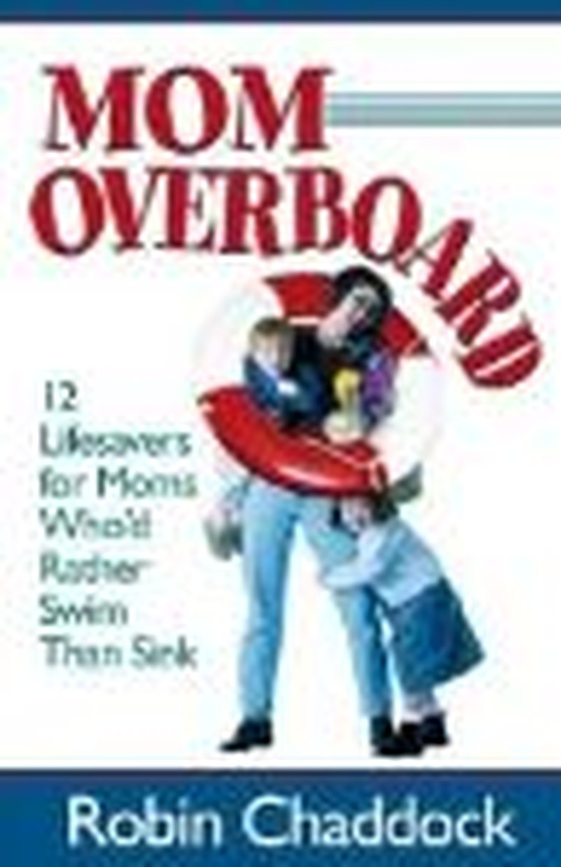 """The Cross & the Pen: Author Robin Chaddock & """"Mom Overboard"""""""