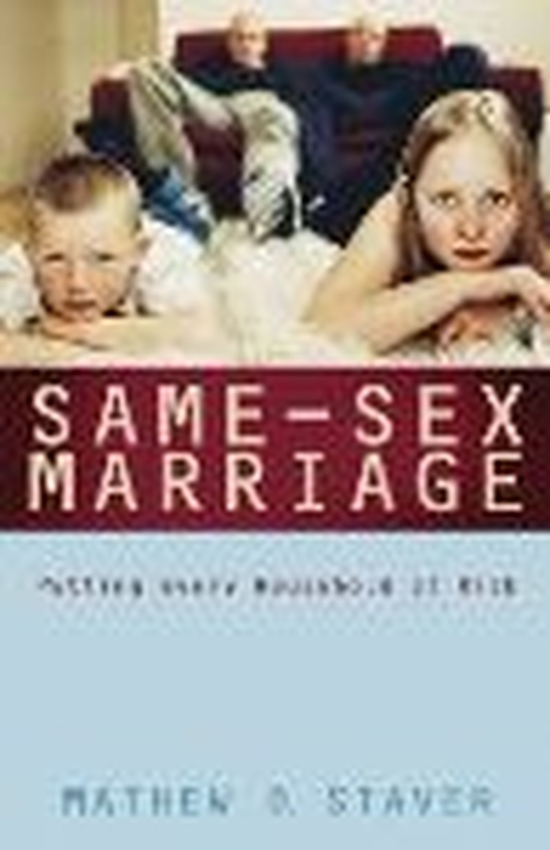 Legal Expert's Book Takes on Same-Sex Marriage Issue