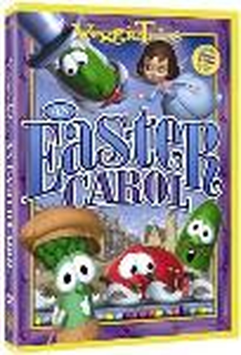 """VeggieTales:  An Easter Carol""  - Video Review"