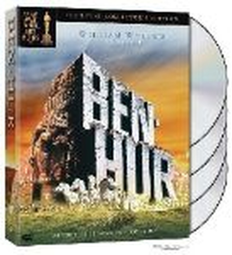 """""""Ben-Hur"""" Collector's DVD Set Proves Collection Worthy"""