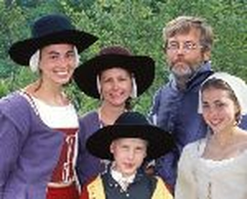 """PBS Series """"Colonial House"""" Enables Family to Share Faith"""