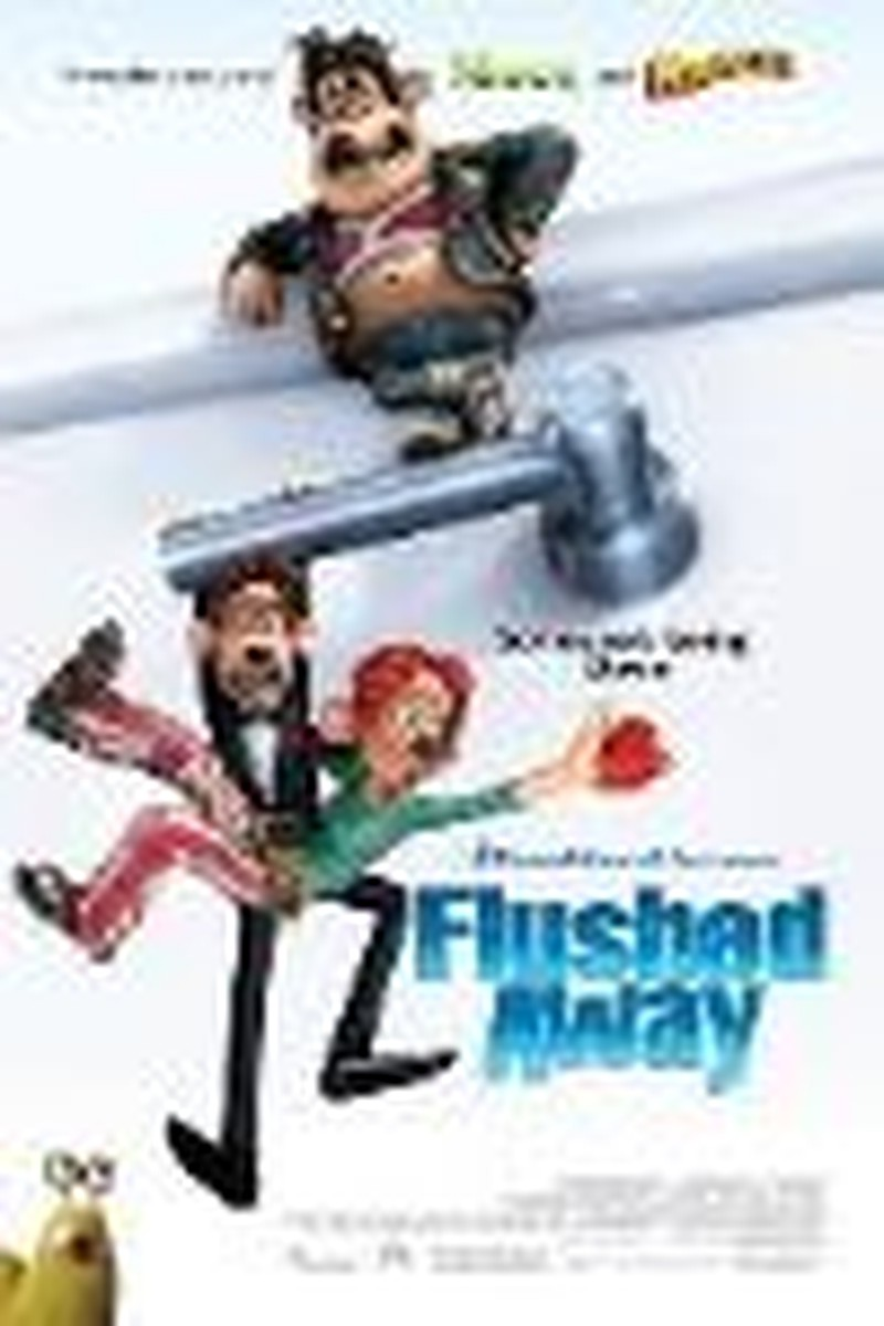"Laughs Aplenty, But Not Much Charm in ""Flushed Away"""