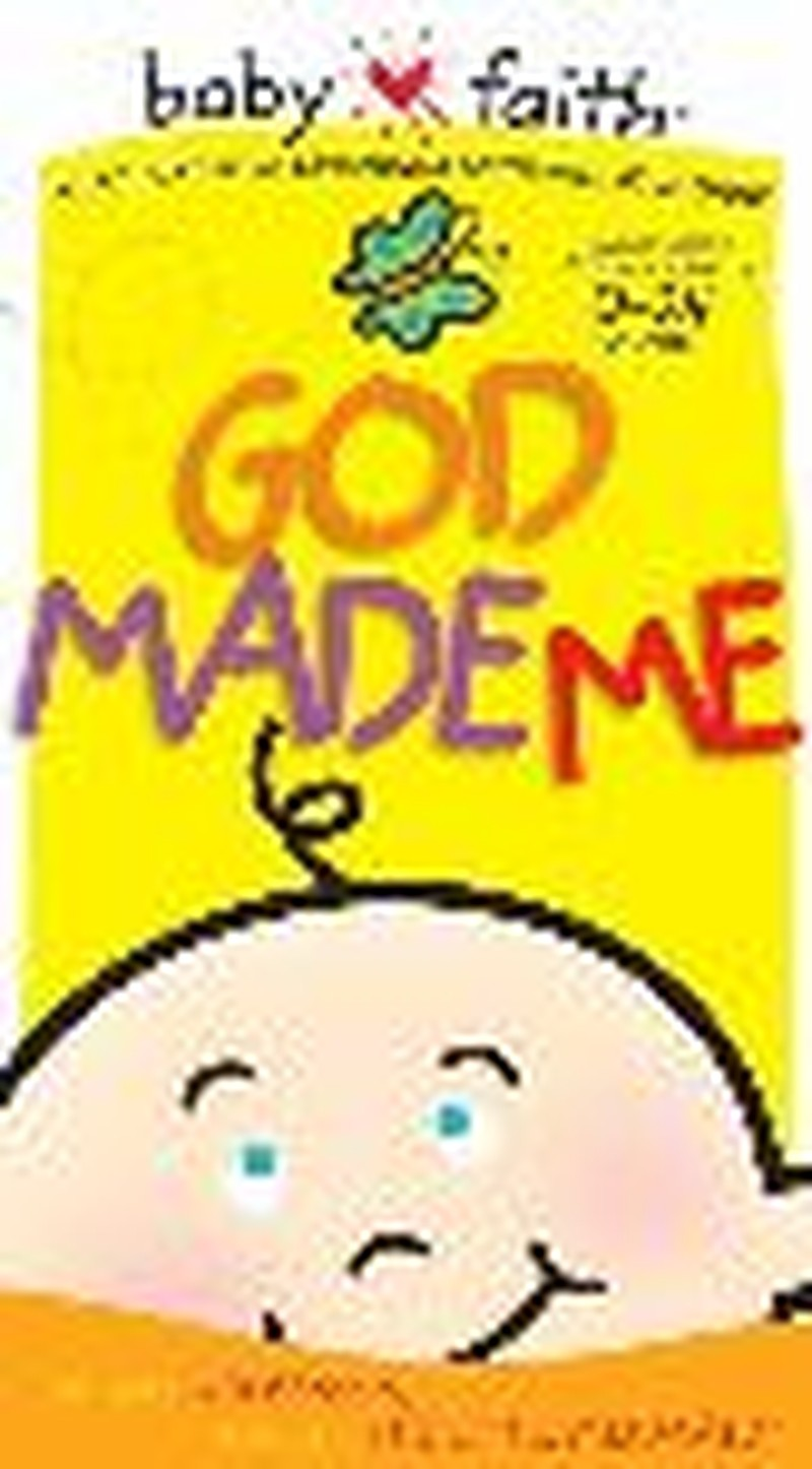 """God Made Me"" - A Baby-Sized Version of the Creation Story"