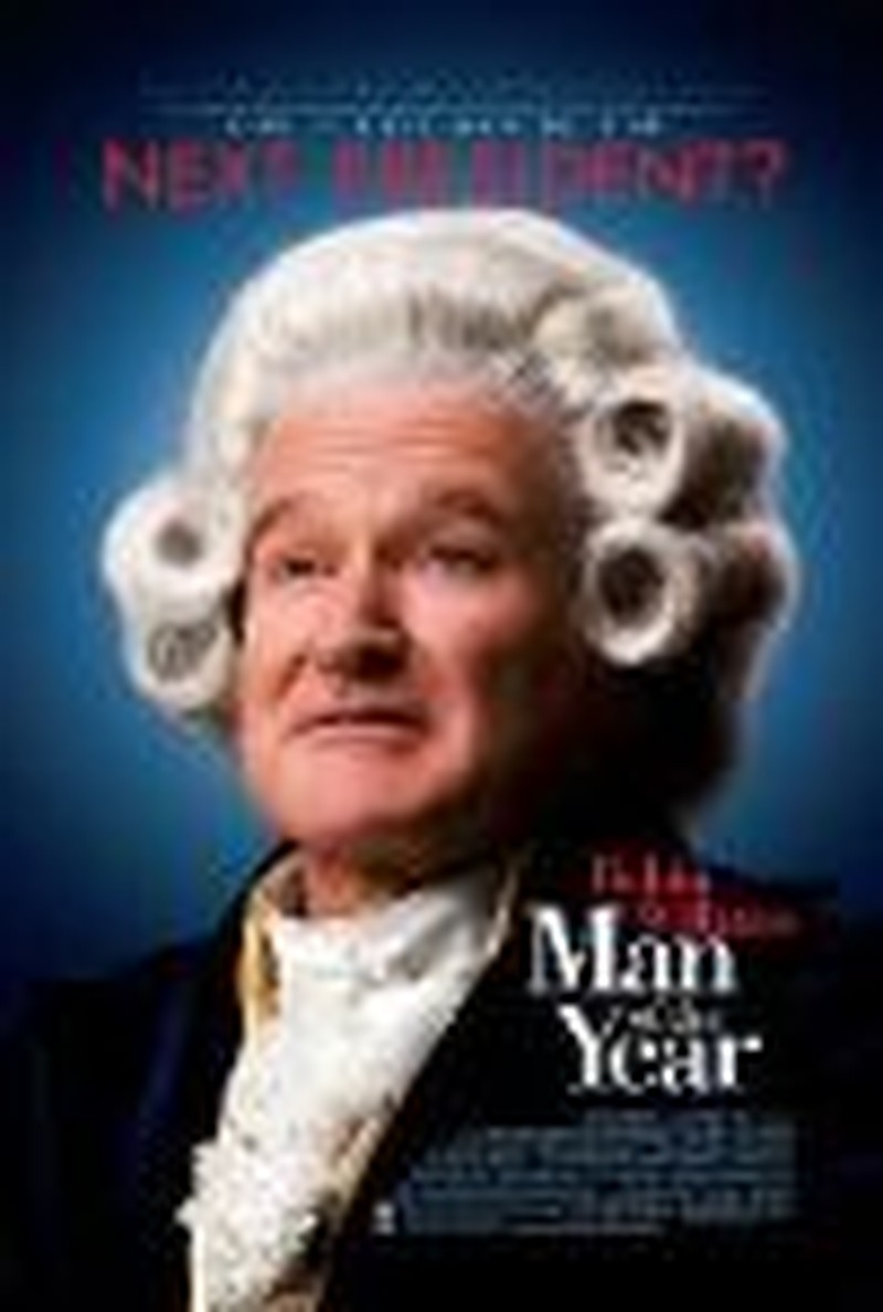 "No Votes Here for Robin Williams in ""Man of the Year"""