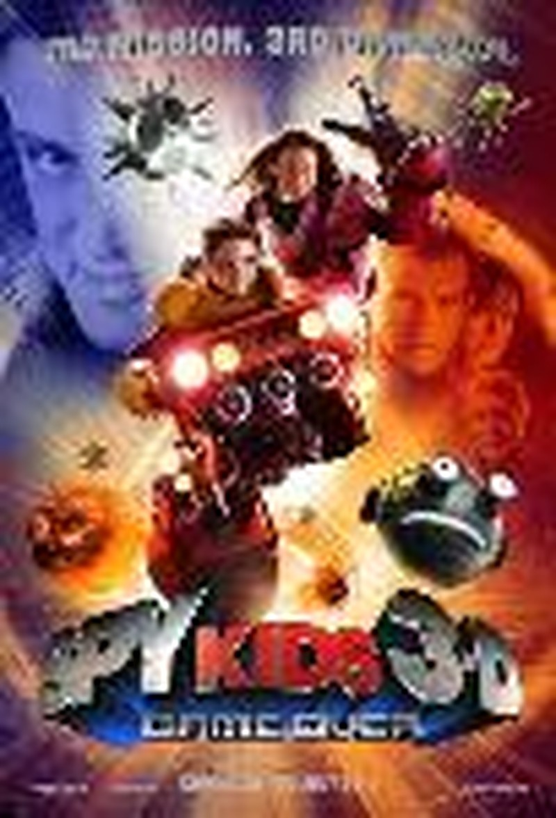 """""""Spy Kids 3-D: Game Over"""" - Movie Review"""