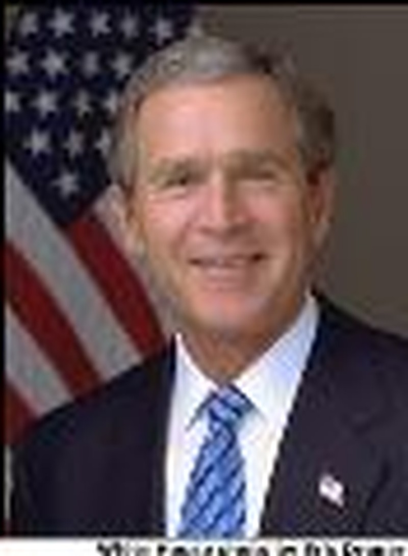 Bush Marks War Anniversary by Welcoming Troops Home