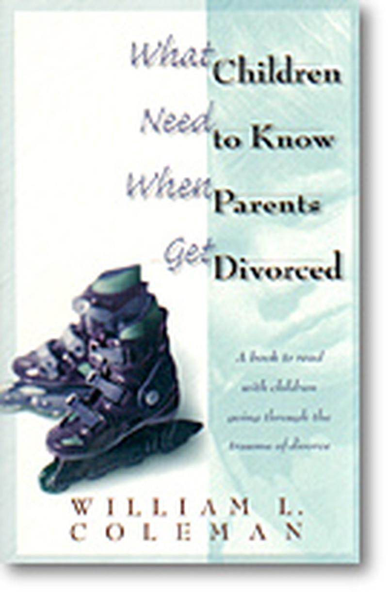 Kids need to know about your divorce