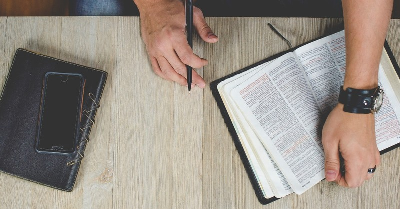 Man with a Bible, organizations launch a free virtual community bible study