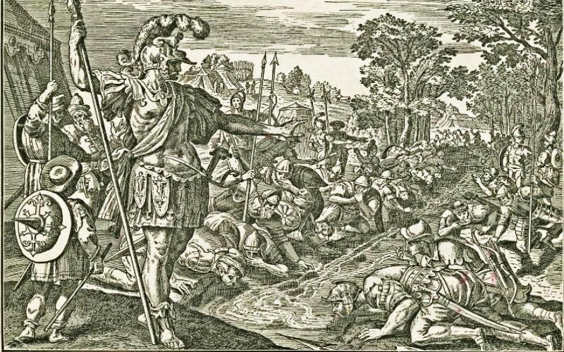 gideon, gideon's army