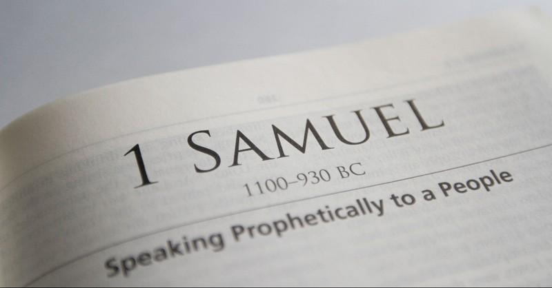 1 Samuel Bible page