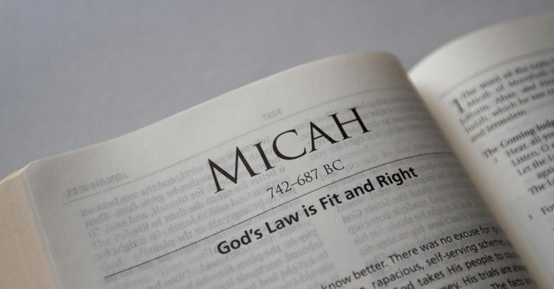 micah, book of micah, micah summary