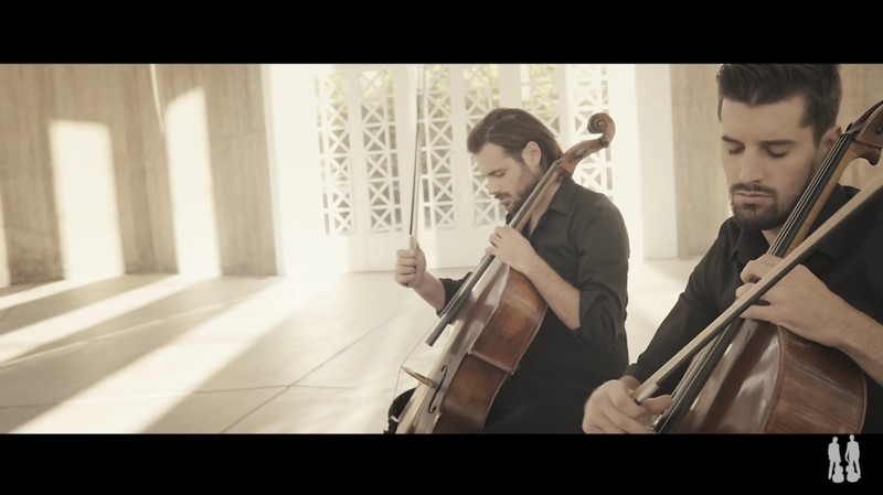 2 cellos music video hallelujah godtube