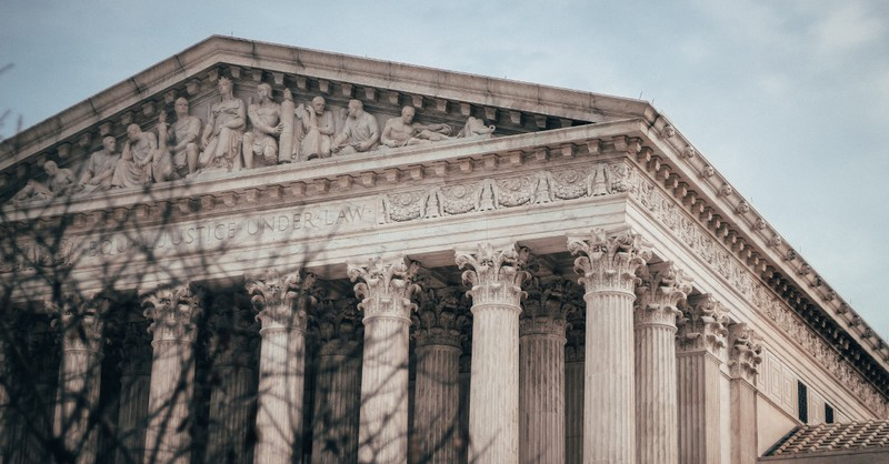 The Supreme Court building, SCOTUS says states can place sanctions of electors who do not vote with their states popular winner