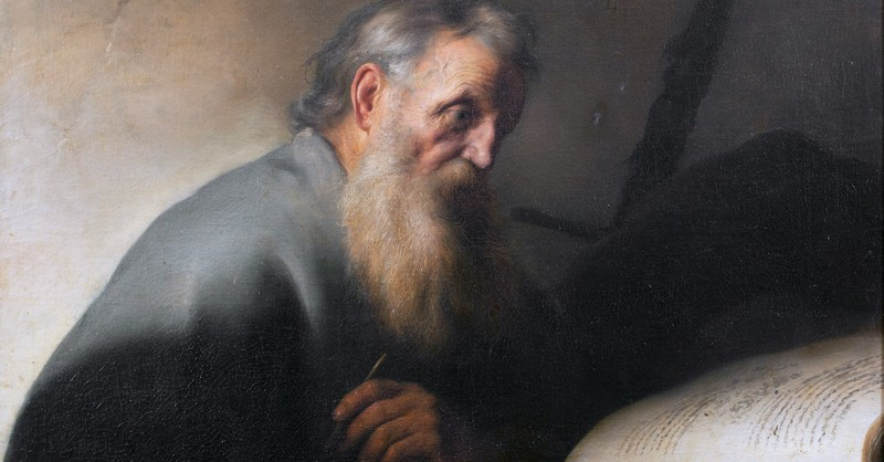 Jan Lievens painting of St. Paul