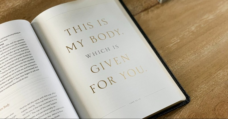 This is my body verse in the Bible