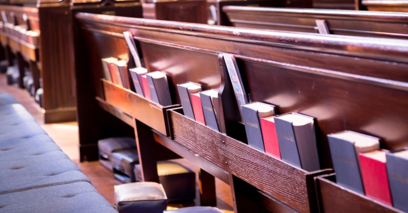 bibles and hymnals in pews What Is Liturgy