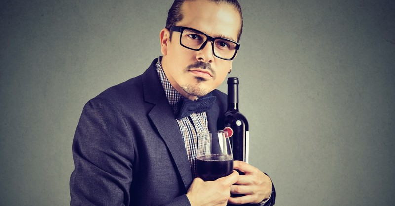 man defending his right to drink alcohol
