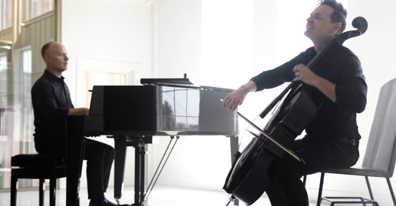The Piano Guys Perform 'You Say' Cello and Piano Cover