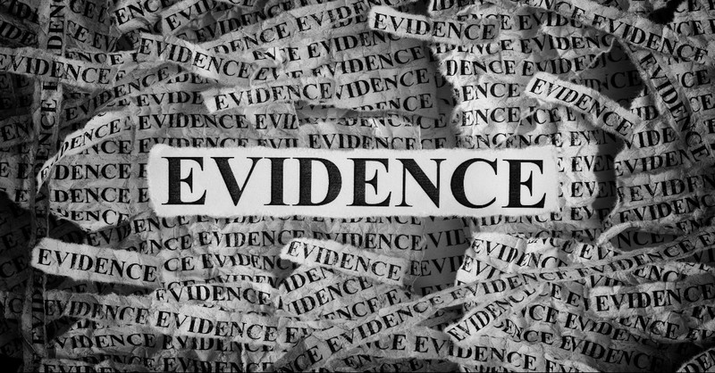 Evidence newspaper clippings