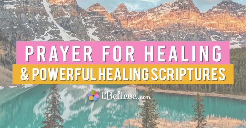 prayer for healing, healing scriptures, healing bible verses