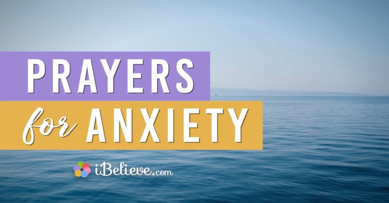 prayers for anxiety, prayer for worry, prayer for stress