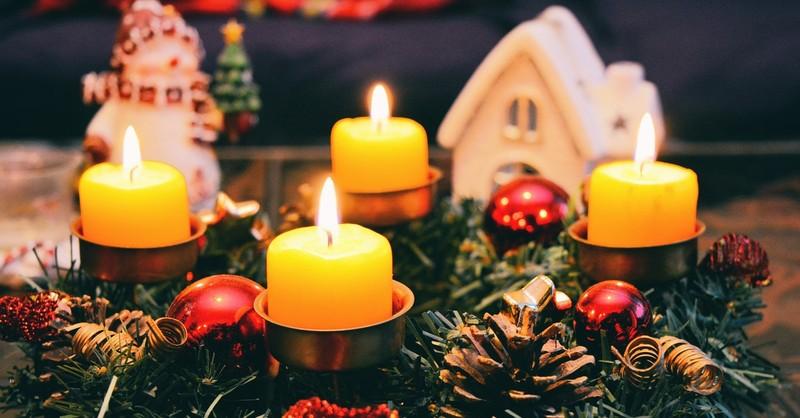 advent wreath prayers, advent wreath blessings, advent prayers