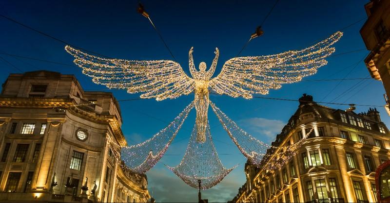 Christmas Light Angel