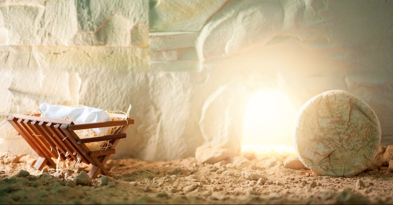 Manger and the tomb