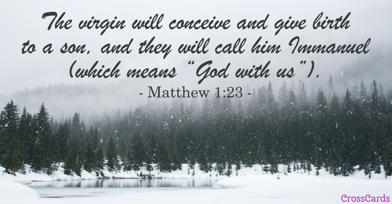 Your Daily Verse - Matthew 1:23