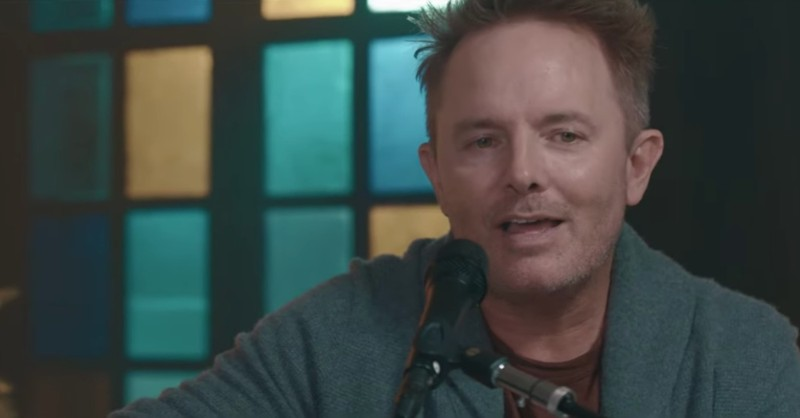 'Joy To The World (Unspeakable Joy)' Chris Tomlin Acoustic Performance