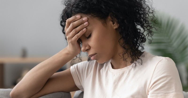 overwhelmed woman, God will give you more than you can handle