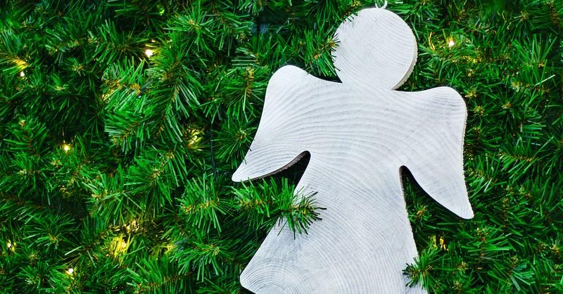 Angel ornament, Elizabeth Christmas story