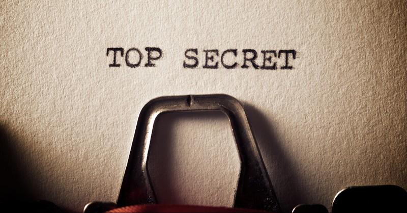 Top secret type writer