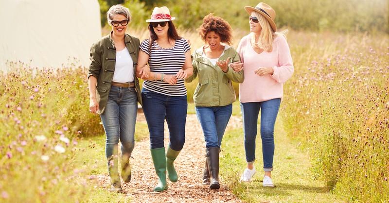 group of women, well behaved women seldom make history
