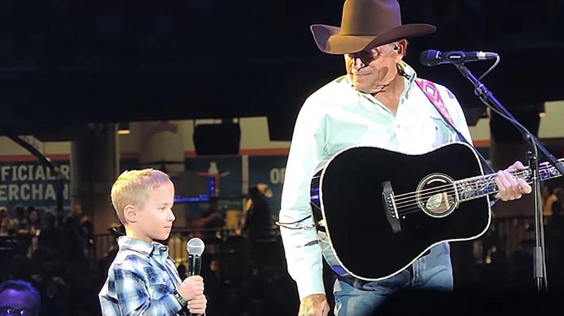 George Strait and Grandson Sing 'God and Country Music'