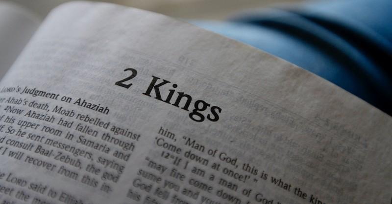 open Bible to book of 2 Kings, who is Hezekiah?