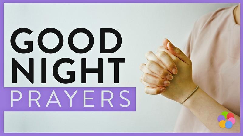 good night prayers, bedtime prayers