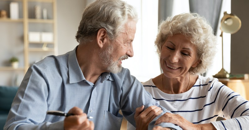 couple getting along, communication in marriage