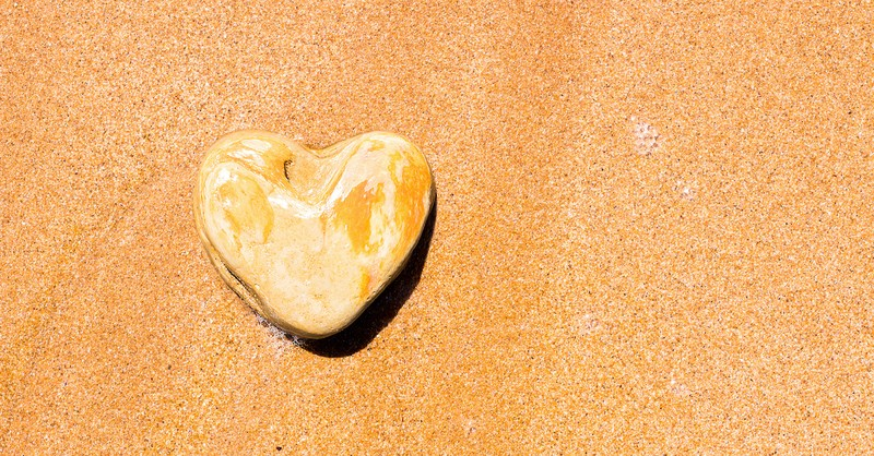 stone heart in sand, why did God harden pharaoh's heart