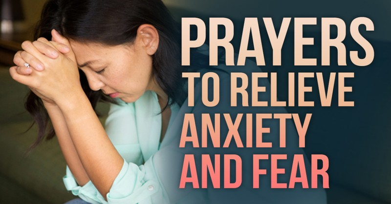 Prayers for Anxiety and Fear
