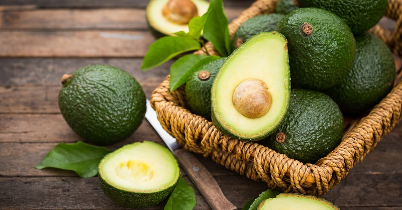 basket of avocados, taste and see that the lord is good