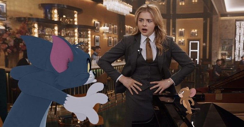 Chloe Grace Moretz with Tom and Jerry, Things parents should know about the new Tom and Jerry Movie