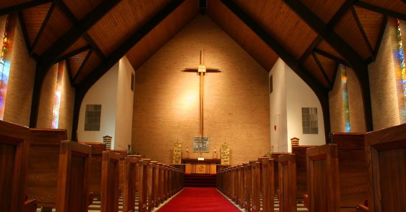 church sanctuary interior