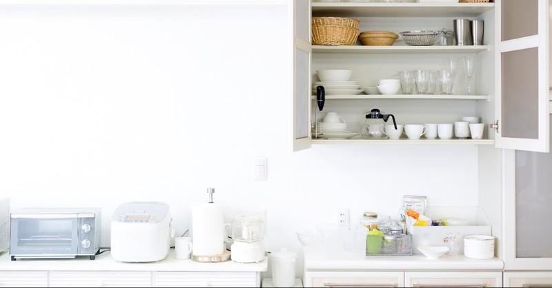 An orderly kitchen